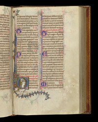 Feast of St Swithun, in the Stowe Breviary